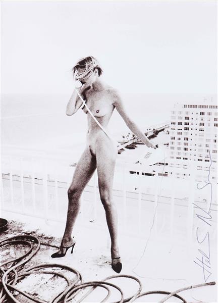 Helmut Newton-Senza titolo-