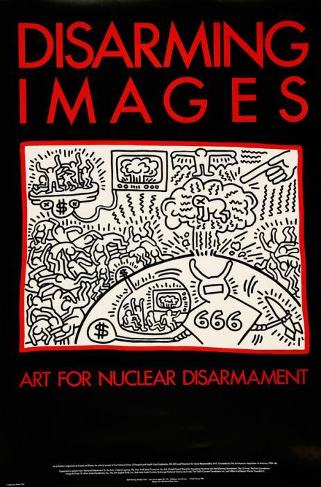 Keith Haring-Keith Haring - Disarming image: Art for nuclear disarmament-