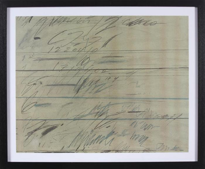 Cy Twombly-Roman Notes-1971