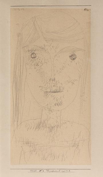 Paul Klee-Physiognomisch Nach M.B. (Physiognomic After M.B.)-1925