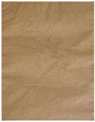 Lucio Fontana-Senza titolo-1946
