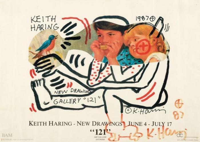 Keith Haring-Keith Haring - New Drawings-1987