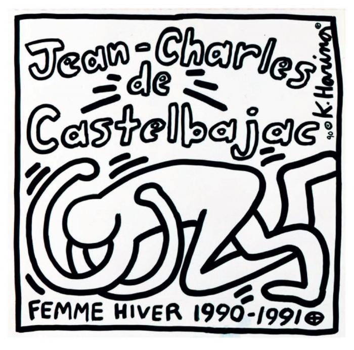 Keith Haring-Keith Haring - Jean-Charles de Castelbajac (Femme Hiver 1990-1991)-1990