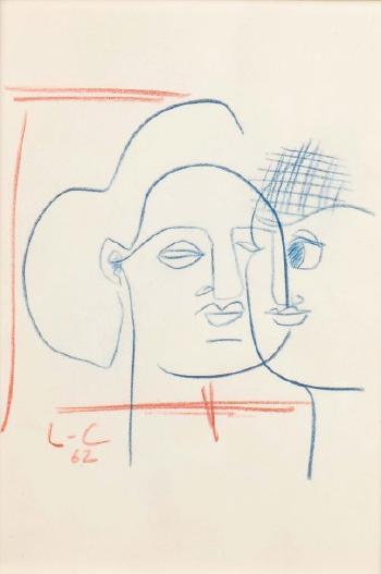 Le Corbusier-Deux visages-1962