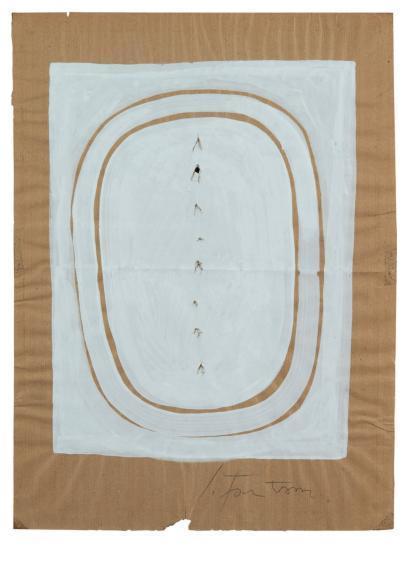 Lucio Fontana-Untitled-