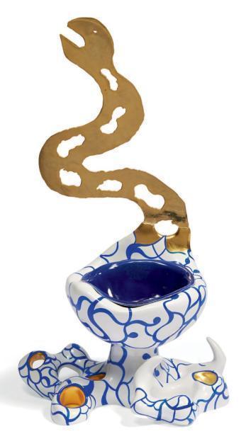 Niki de Saint Phalle-Serpent d'eau-1993