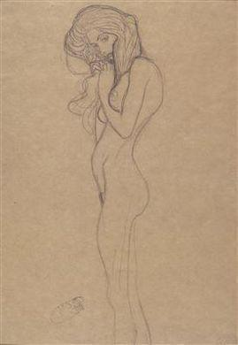 Gustav Klimt-Ohne Titel (12 Sketches For The Beethoven Frieze From The Public Collection In Vienna)-