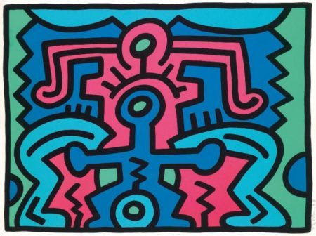 Keith Haring-Keith Haring - Growing No 5-1988