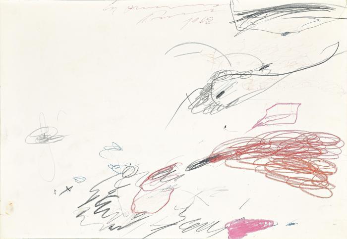 Cy Twombly-Ohne Titel (Rom)-1962