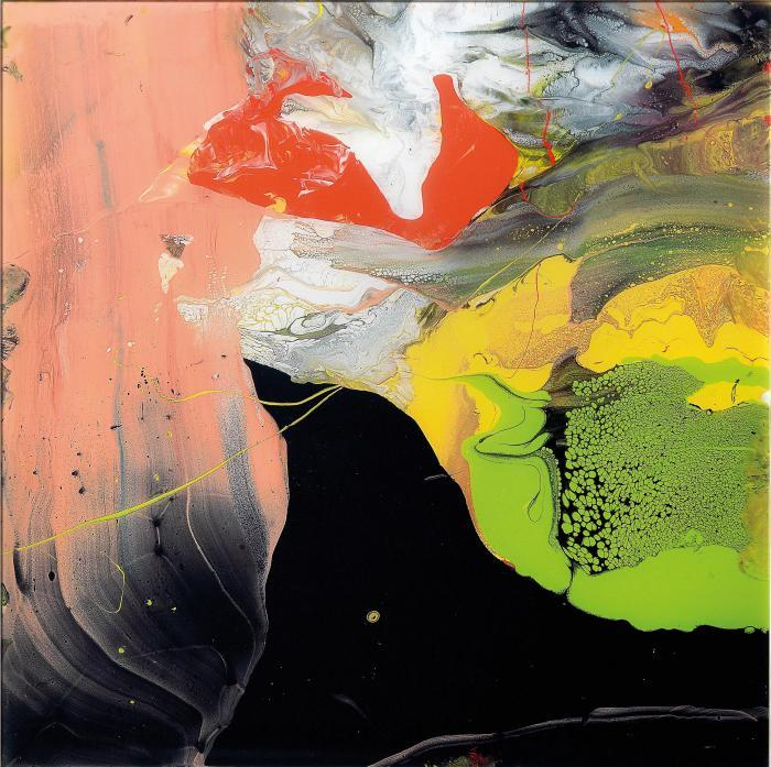 Gerhard Richter-Flow P6-2014