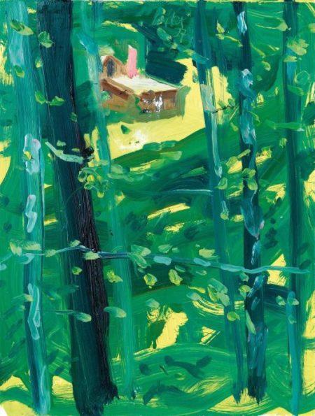 Alex Katz-Reflection-2007