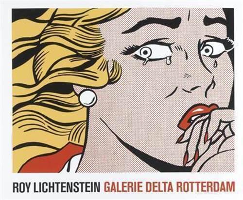 Roy Lichtenstein-Crying girl-1984