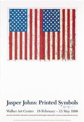 Jasper Johns-Flags I-