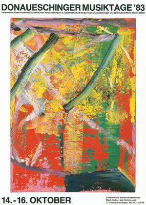 Gerhard Richter-Donaueschinger Musiktage '83-1983