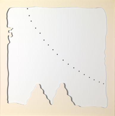 Lucio Fontana-Concetto Spaziale, Teatrino bianco-1968