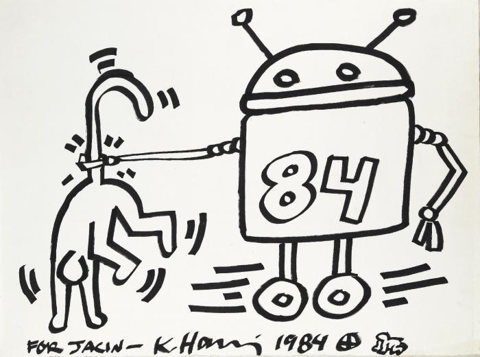 Keith Haring-Keith Haring - The Robot-1984