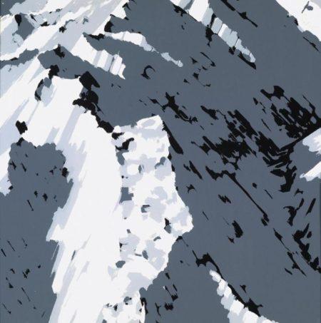 Gerhard Richter-Schweizer Alpen II A2 (Swiss Alps II A2)-1969