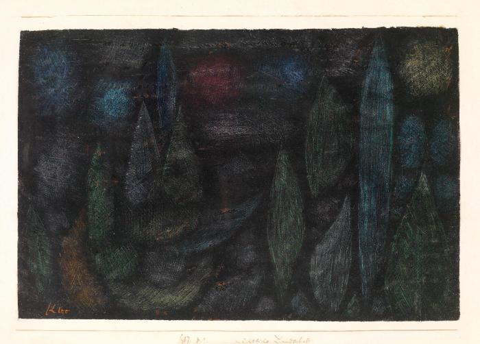 Paul Klee-Nachtliche Landschaft-1937