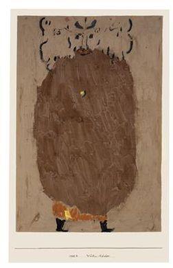 Paul Klee-Wusten-Rauber-1938