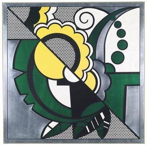 Roy Lichtenstein-Still life-1968