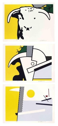 Roy Lichtenstein-Bull Head Series-