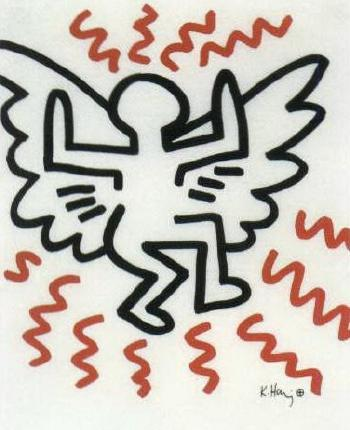 Keith Haring-Keith Haring - Flying Man-