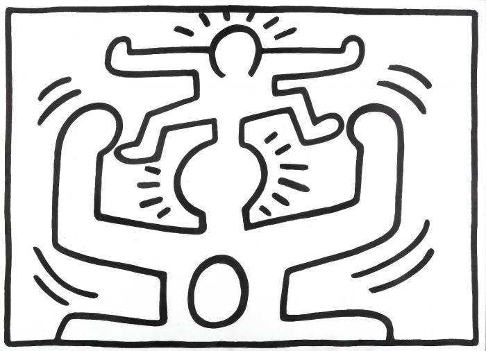 Keith Haring-Keith Haring - Untitled-1988