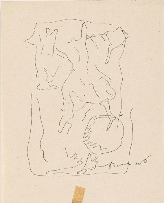 Lucio Fontana-Bajorelieve fantastico-1946