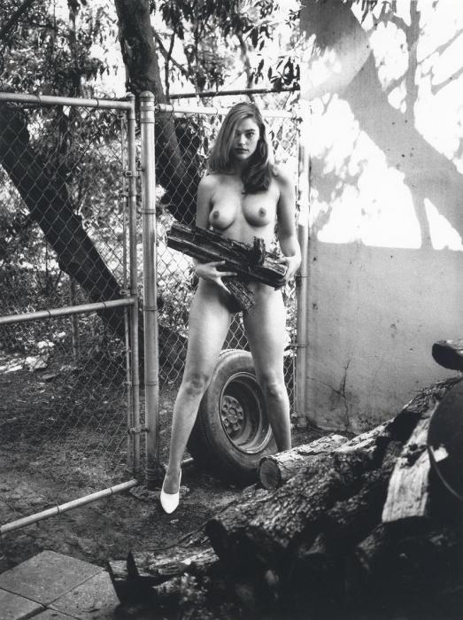 Helmut Newton-Domestic Nude 11-1992