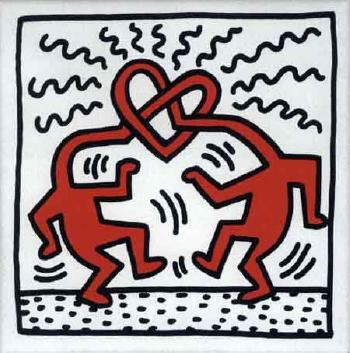Keith Haring-Keith Haring - The Wedding-1989