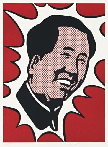Roy Lichtenstein-Mao-1971