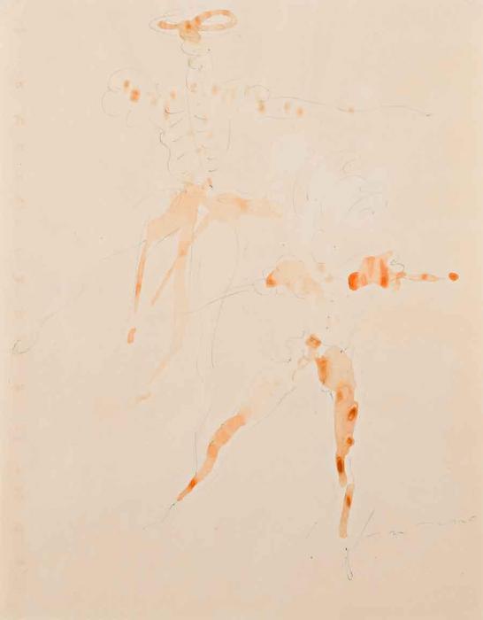 Lucio Fontana-Senza titolo-1966