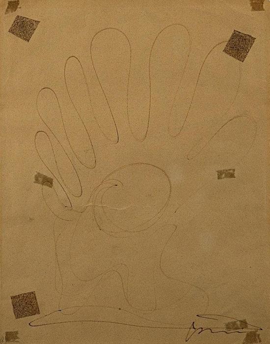 Lucio Fontana-Disegno-1952