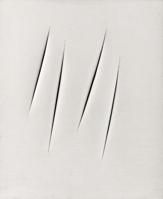 Lucio Fontana-Concetto spaziale, Attese-1965