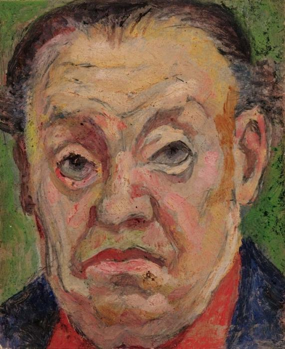 Diego Rivera-Autoritratto-1957