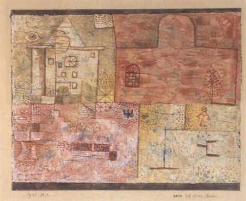 Paul Klee-Neues Auf Altem Baden (The New Over The Old)-1931