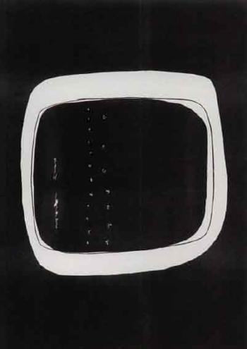 Lucio Fontana-Concetto spaziale n.6-1960