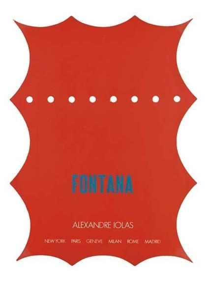 Lucio Fontana-Senza titolo-