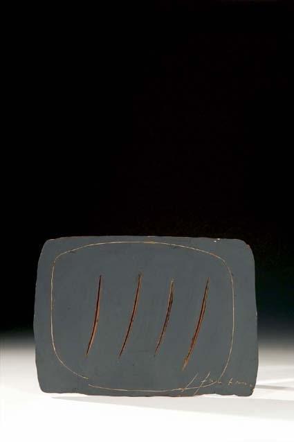 Lucio Fontana-Concetto spaziale-Attese-1961