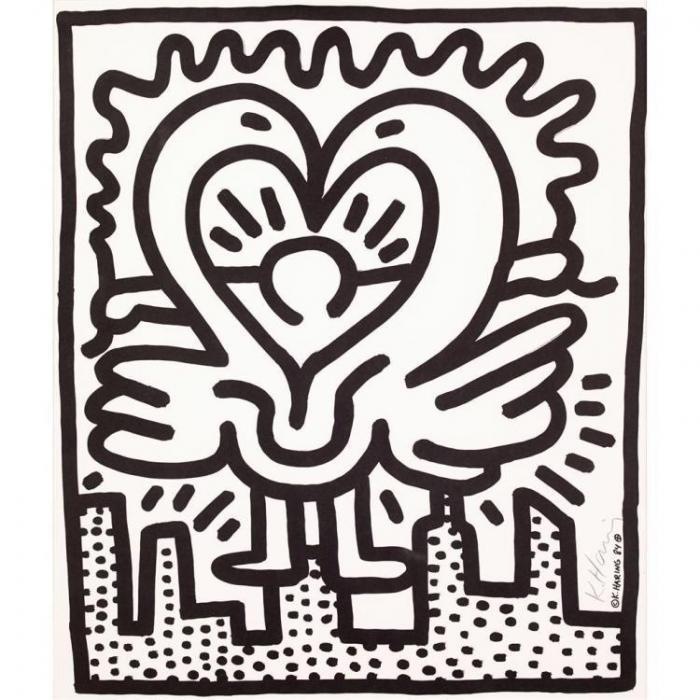 Keith Haring-Keith Haring - Kutztown Connection-1984