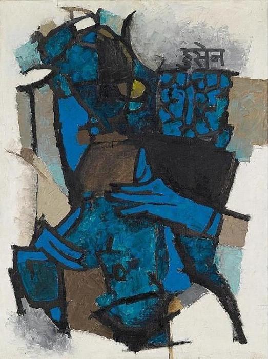 Maqbool Fida Husain-Untitled-1959