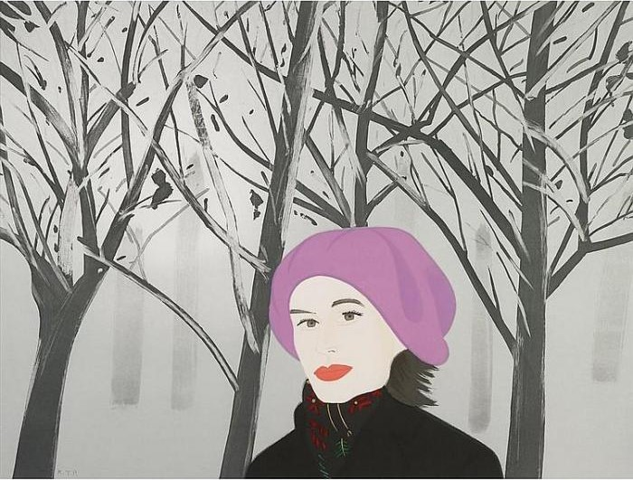 Alex Katz-January 7 / 7 Jan-1993