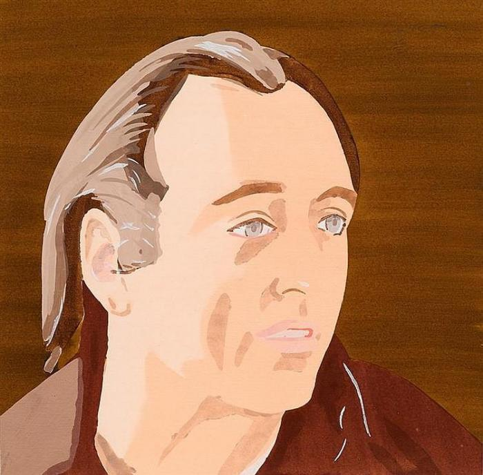 Alex Katz-Al Held / Man-1976