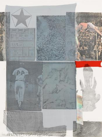 Robert Rauschenberg-Robert Rauschenberg - Back out (from the Suite of Nine Prints)-1979