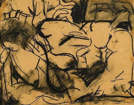 Chuck Close-Untitled-1963