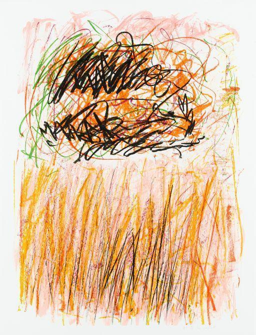 Joan Mitchell-Flowers I, from Bedford series-1981