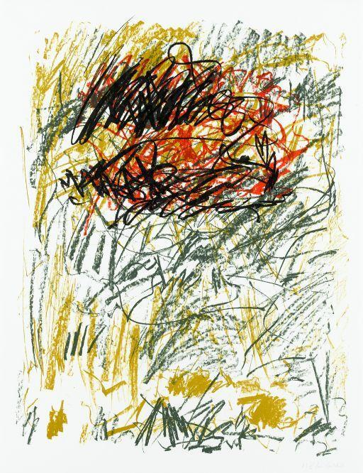 Joan Mitchell-Flower III, from Bedford Series-1981