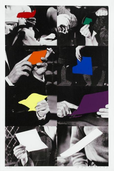 John Baldessari-Two Unfinished Letters / The Letter / Ohne Titel-1993