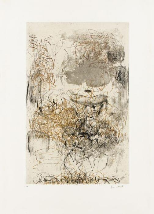 Joan Mitchell-Sunflower VII-1972