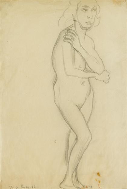 Diego Rivera-Desnuda Modesta-1942